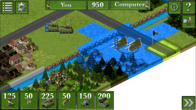 This decoy tank could cross the river but a real tank cannot.