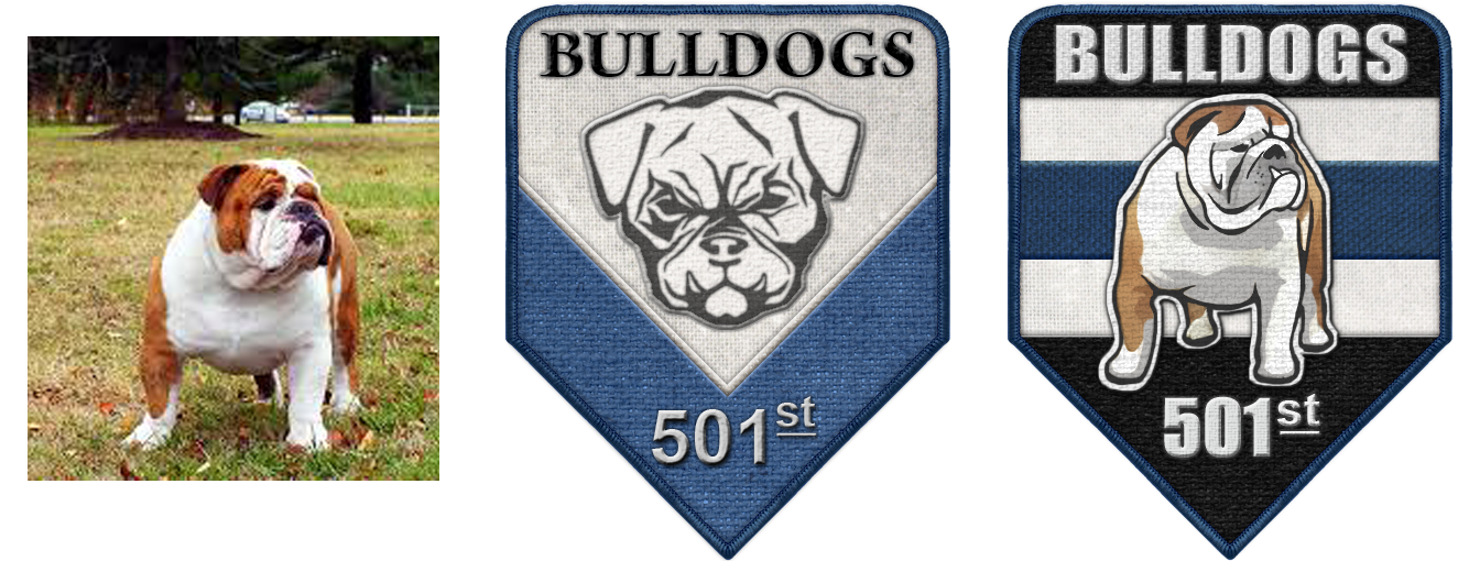 501st Bulldogs in Progress